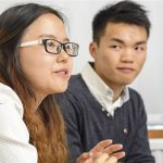Chinese students meet in Glasgow