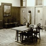 Waiting hall in 1954