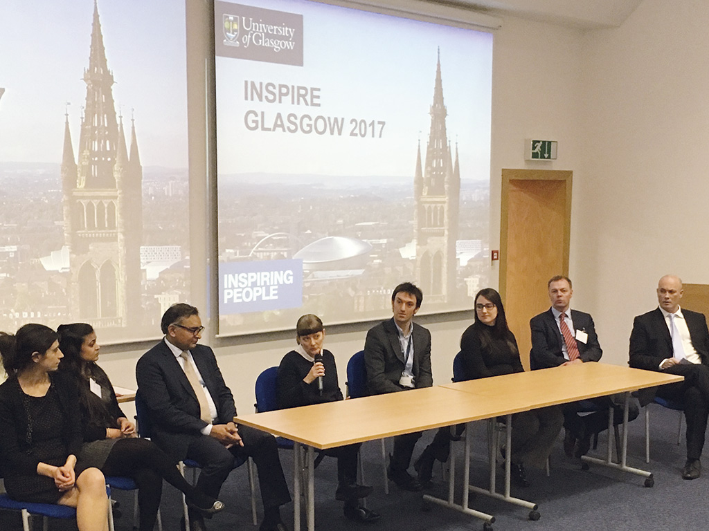 The panel from the INSPIRE event 2017