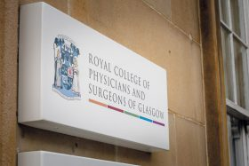 Royal College of Physicians and Surgeons of Glasgow signage