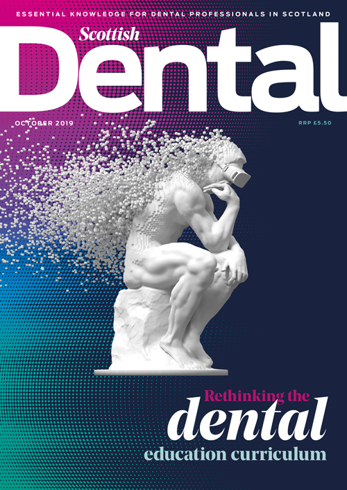 Cover, Scottish Dental magazine, October 2019