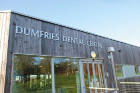 Exterior of Dumfries Dental Centre