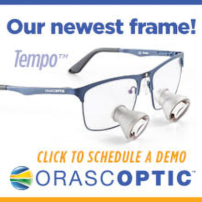 Our newest frame! Tempo from orascoptic